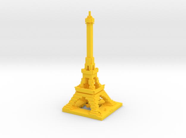 Detail Minecraft Eiffel 3d printed