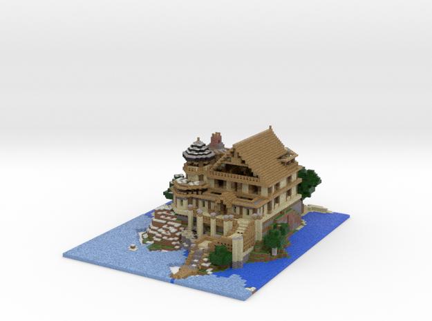 Chateau de Resquer w/details 3d printed
