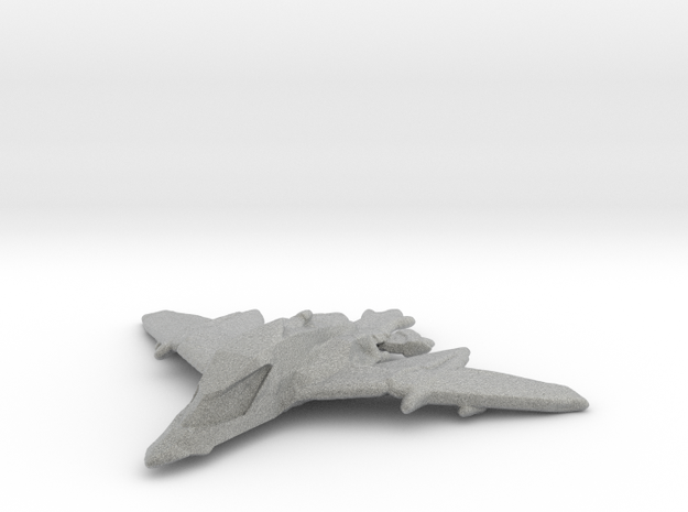 Dragon Spear in Metallic Plastic