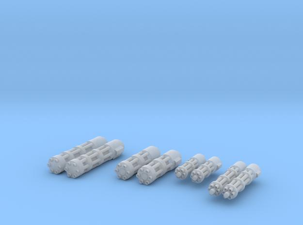 Gatling Guns in Smoothest Fine Detail Plastic
