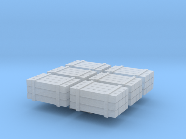 N scale timber bundles - cargo in Smooth Fine Detail Plastic