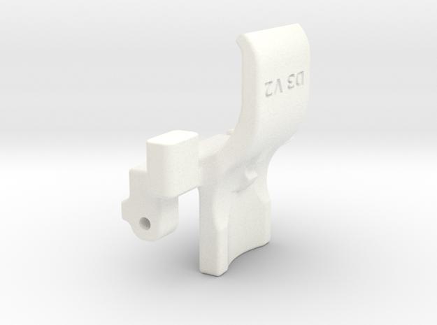 DTagClip V2 in White Strong & Flexible Polished