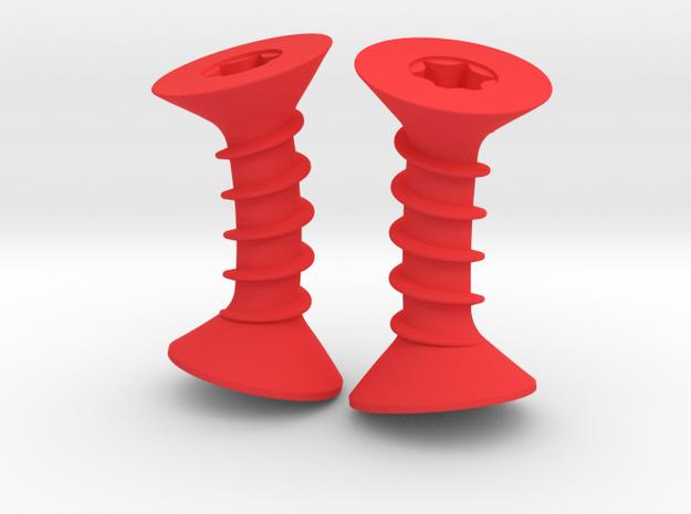 Cufflinks screw - Torx/ Phillips 3d printed