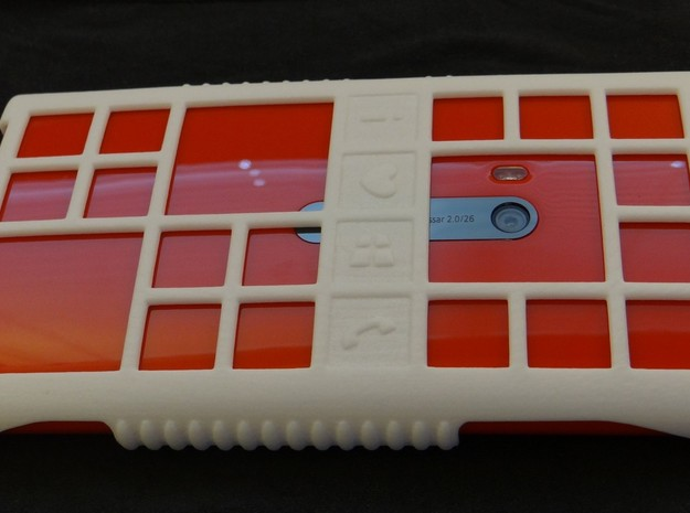 "Lumia 920 Windows 8 ""love"" case 3d printed"
