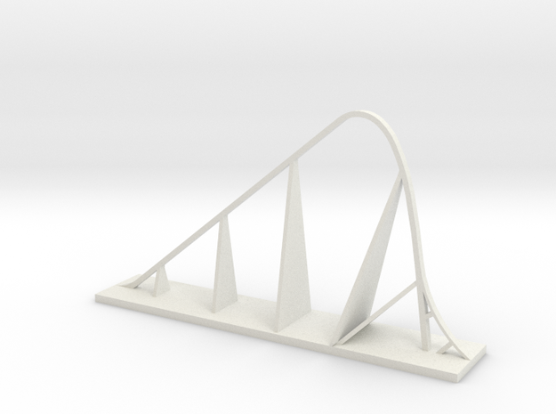 Fury 325 Roller Coaster in White Strong & Flexible