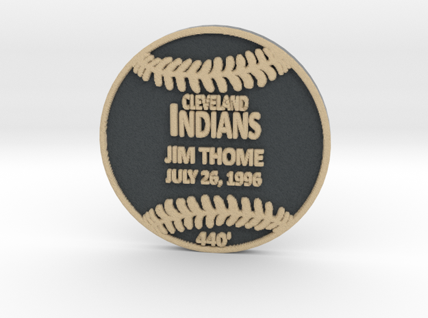 Jim Thome in Full Color Sandstone