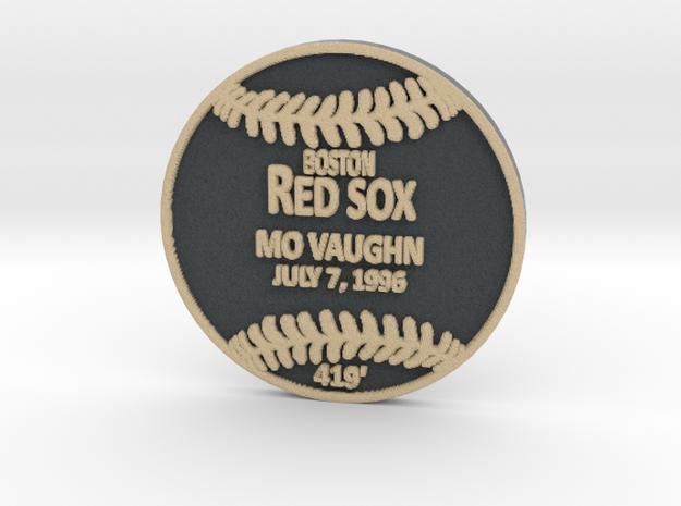 Mo Vaughn in Full Color Sandstone