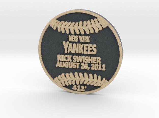 Nick Swisher in Full Color Sandstone
