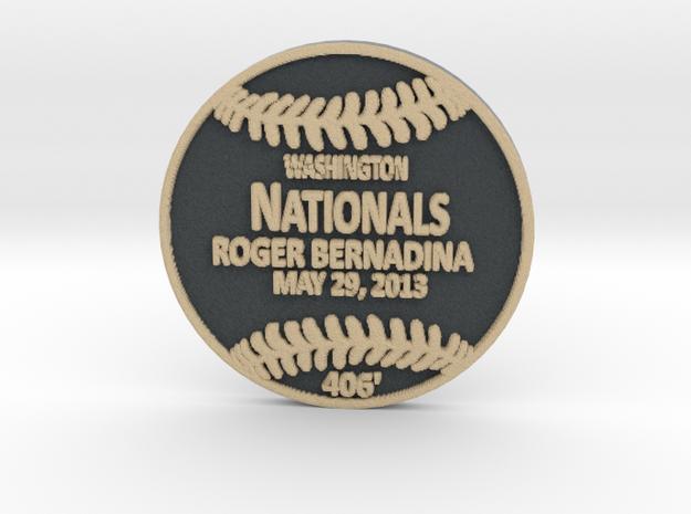 Roger Bernadina in Full Color Sandstone