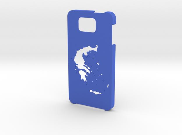 Samsung Galaxy Alpha Greece case in Blue Processed Versatile Plastic