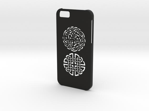 Iphone 6 Celtic case in Black Natural Versatile Plastic