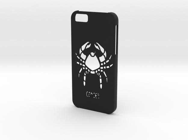 Iphone 6 Cancer case in Black Natural Versatile Plastic