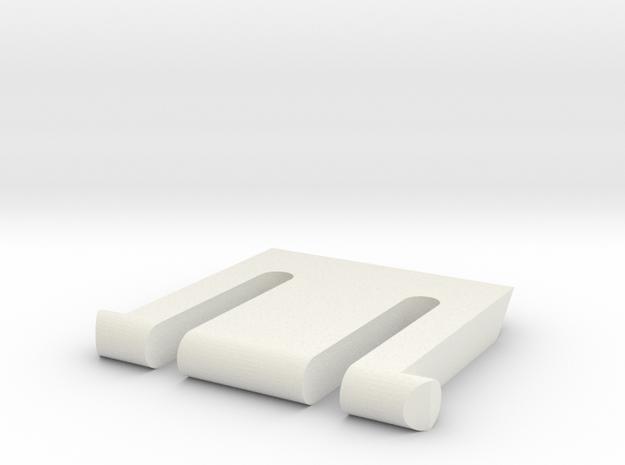 K360 Keyboard Leg in White Strong & Flexible
