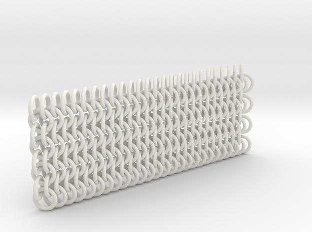 European 4in1 0.08in [3.9] 26x4 in White Natural Versatile Plastic