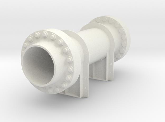 Valve for flatbed load in White Natural Versatile Plastic