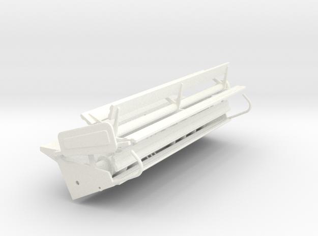L/m 15 Foot Rigid  in White Processed Versatile Plastic
