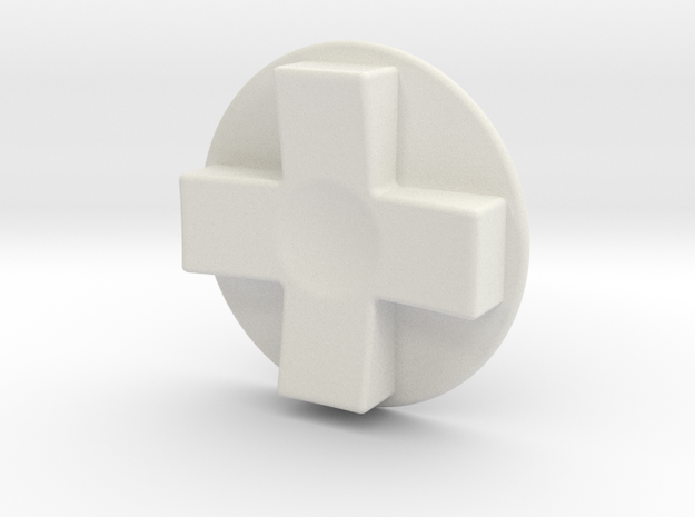 Tinker: D-Pad MK5 in White Strong & Flexible