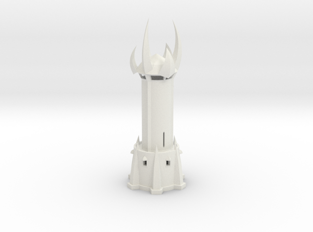 Valona's Tower Hollow in White Natural Versatile Plastic