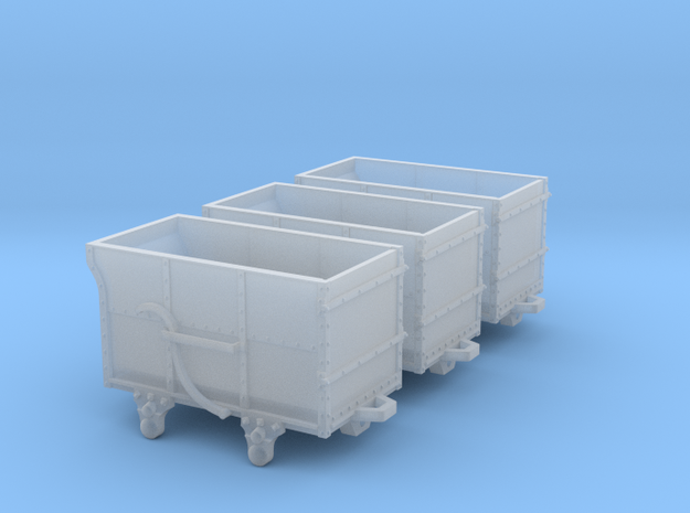 3x FR Dandy wagons in Frosted Ultra Detail