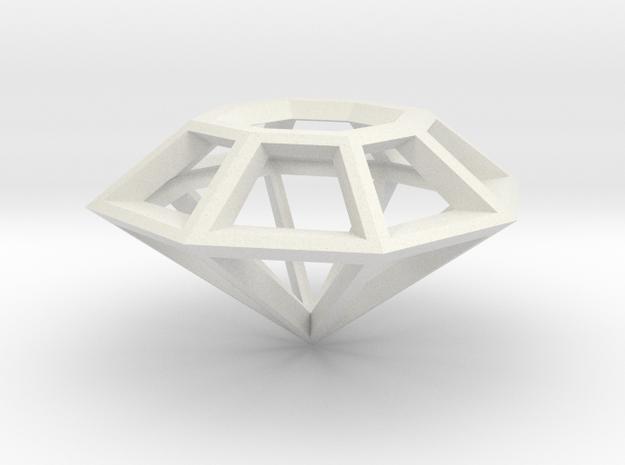 Diamond Prism in White Strong & Flexible