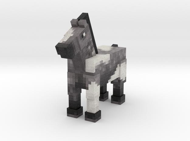 Horse 016 in Full Color Sandstone
