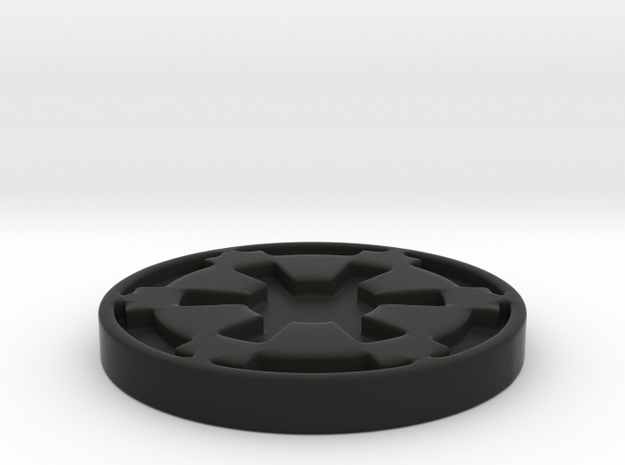 Imperial Coaster in Black Strong & Flexible
