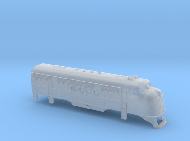 Z Scale EMC FT Locomotive Shell in Smoothest Fine Detail Plastic