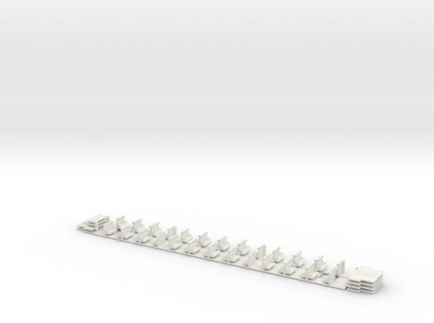 #07B OBB H0(1:87) '50 81 20-34 000' Innenausbau in White Strong & Flexible