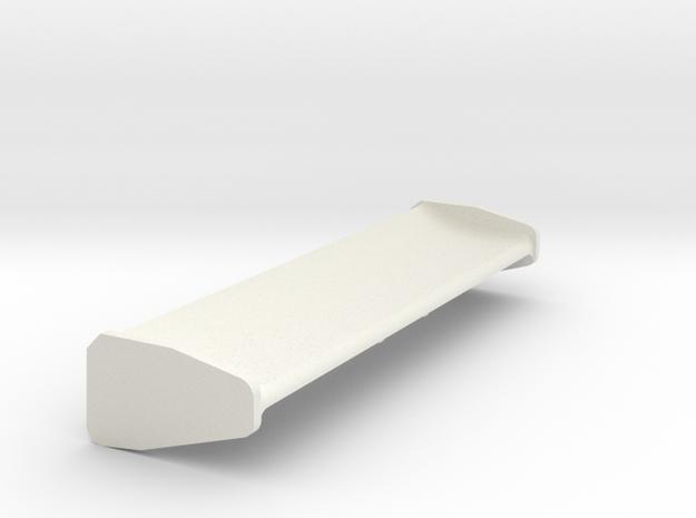 Mazda 787B Spoiler Mini-Z in White Natural Versatile Plastic