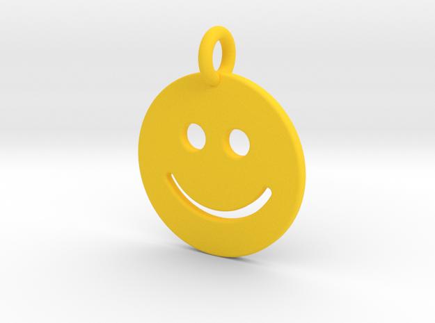 Smilie ) in Yellow Processed Versatile Plastic
