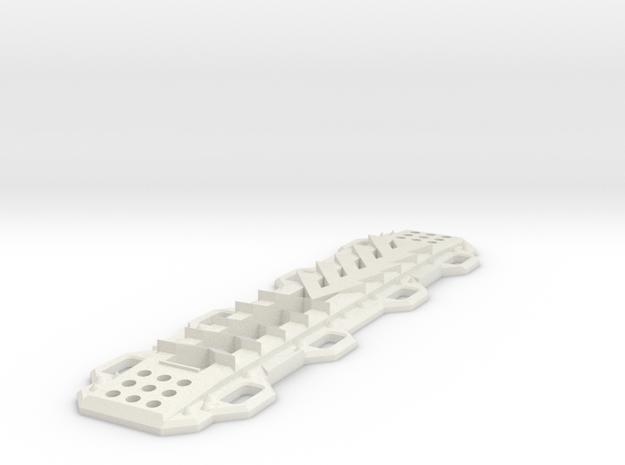 Sand Ramp V1 1/10 scale in White Strong & Flexible
