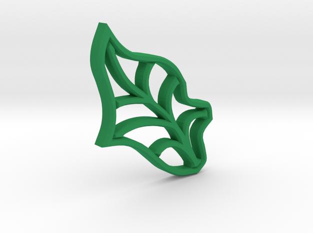 Single Leaf - Tiling the Plane - Multi-use  in Green Processed Versatile Plastic