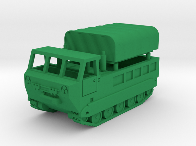 M-548 Cargo Carrier in Green Processed Versatile Plastic: 1:144