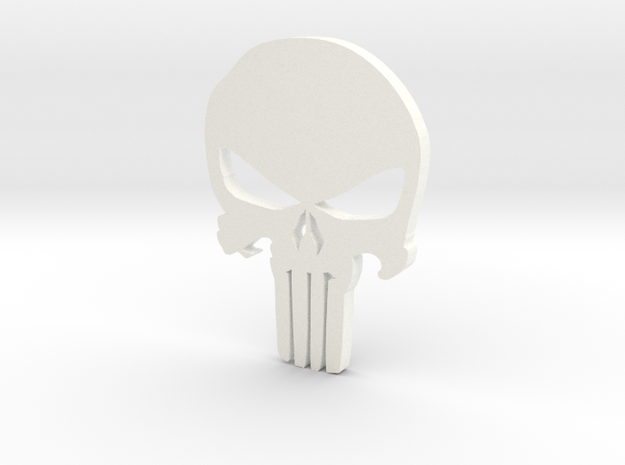 Punisher 2015 Mustang Badge - Small