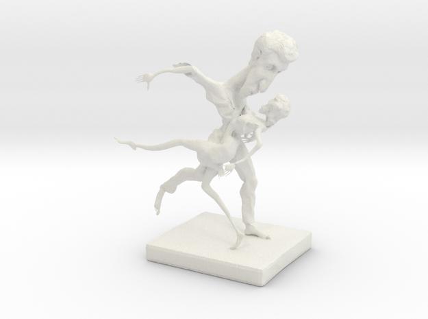 Dance in White Natural Versatile Plastic