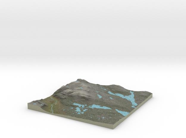 Terrafab generated model Tue Aug 18 2015 21:20:18  in Full Color Sandstone
