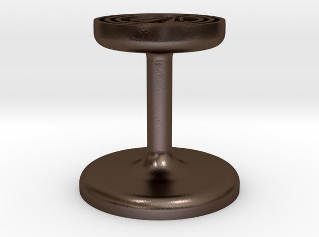 Awen Wax Seal in Polished Bronze Steel