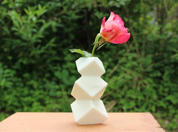 Stacked Cube Vase 3d printed