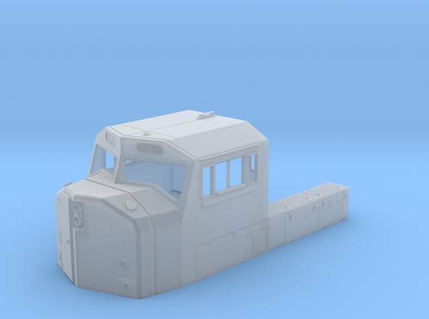 CB0001 CN SD75I Cab 1/87.1 in Smoothest Fine Detail Plastic