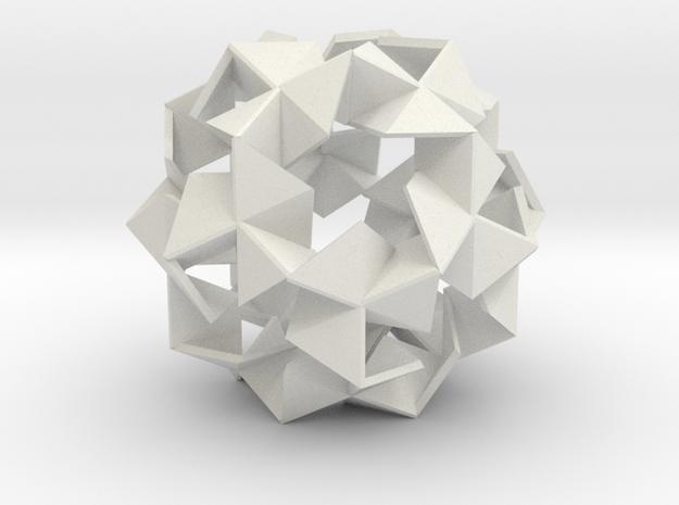 Pinwheel Lattice - 8.4 cm in White Strong & Flexible