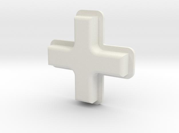 Tinker: D-Pad MK1 in White Natural Versatile Plastic