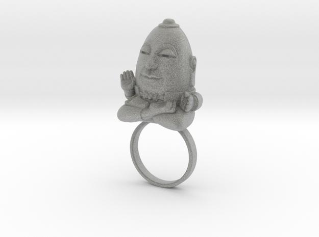 HUMPTY BUDA RING 3d printed