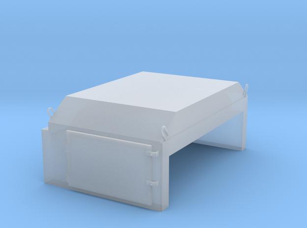AF0002 AF Angled Flush Door 1/87.1 in Smoothest Fine Detail Plastic