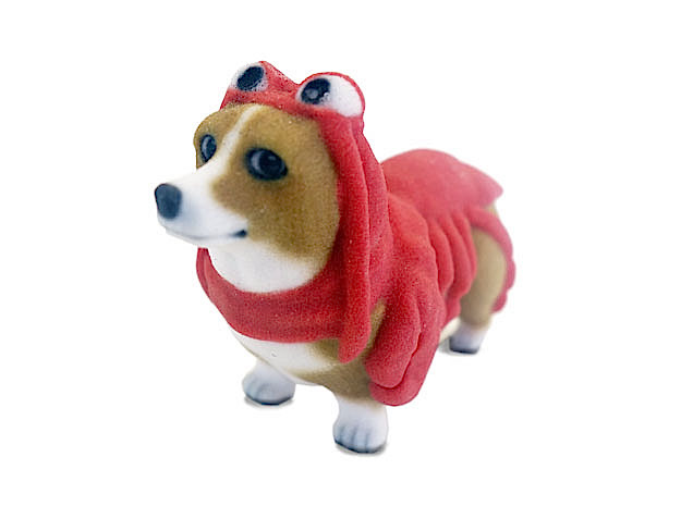 Lobster Corgi in Full Color Sandstone