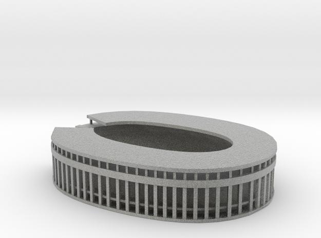 Olympic Stadium Berlin in Metallic Plastic