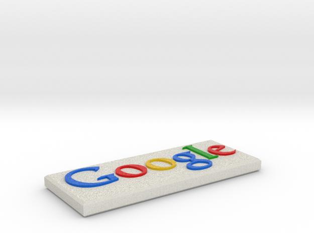 Google Stone in Full Color Sandstone