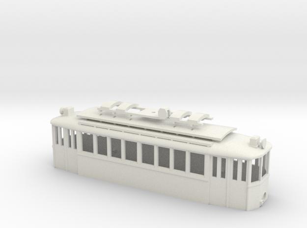 G2 Wiener Strassenbahn Gehäuse Türen geschlossen in White Natural Versatile Plastic