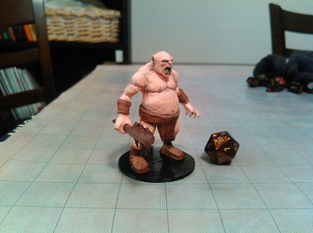 Ogre in White Strong & Flexible Polished