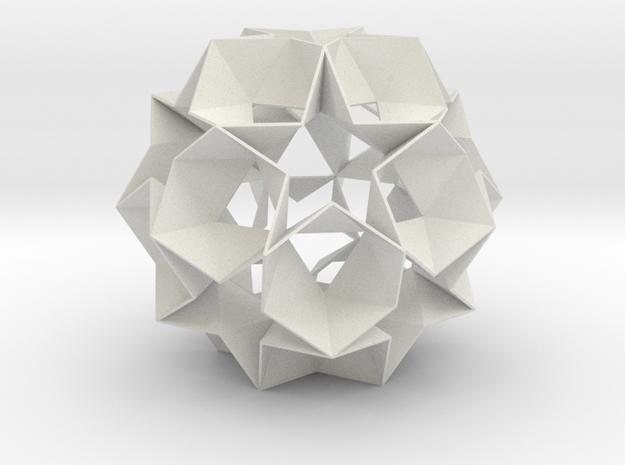 12 Star Ball - 11.2 cm in White Strong & Flexible