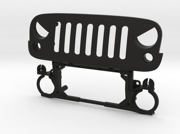 AW10002 Wraith EVIL eye grill & mount in Black Natural Versatile Plastic